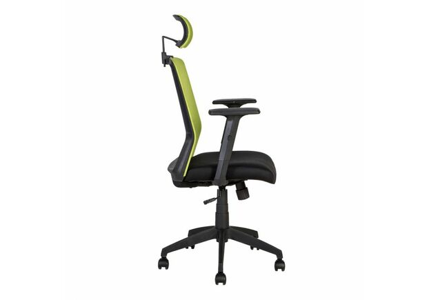 Кресло Home4You BRAVO black-green - Фото №2