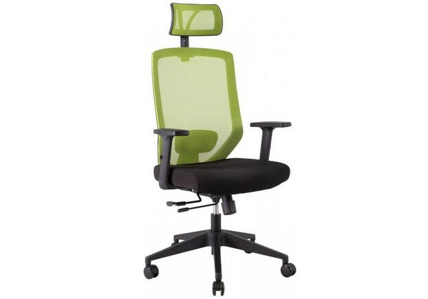 Кресло Office4You JOY black-green - Фото №1
