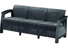 фото серый диван для сада