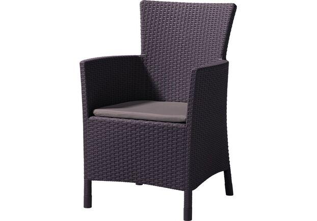 Кресло Iowa коричневый - Фото №1