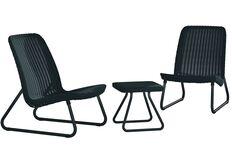 комплект графит серый 2 стула