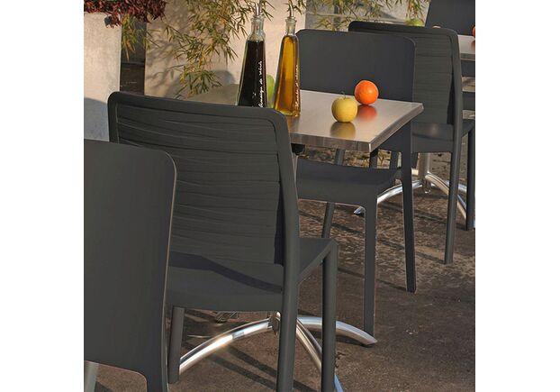 Стул Charlotte Deco Chair серый - Фото №2