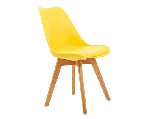 Обеденный стул Жаклин CX желтый - Фото №1