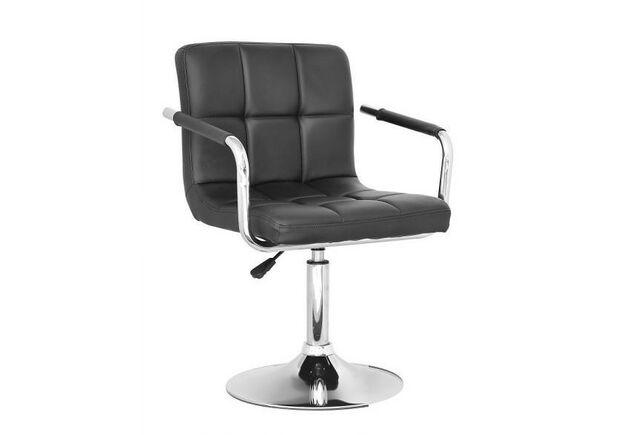 Кресло Артур экокожа черное - Фото №1