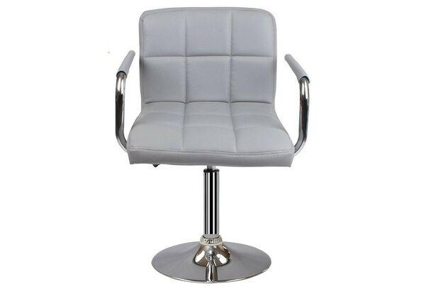 Кресло Артур экокожа серое - Фото №1