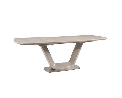Стол обеденный Signal Armani Ceramic серый мат - Фото №1
