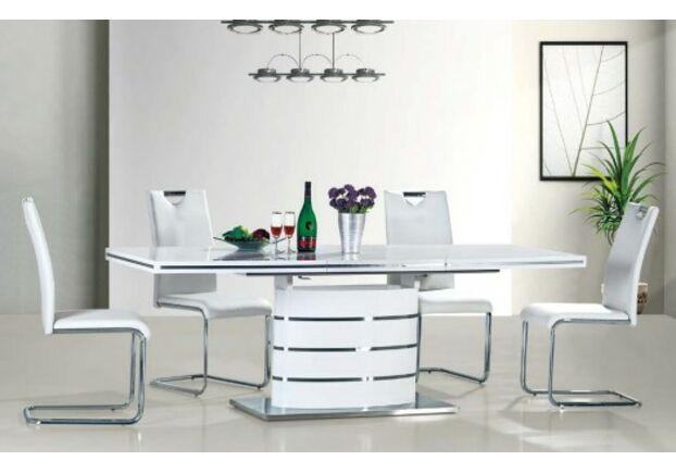 Стол обеденный Fano (80*1200-1800) белый лак - Фото №2
