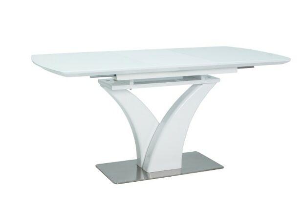 Стол обеденный Faro белый лак - Фото №1