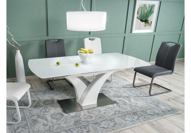 Стол обеденный Faro белый лак - Фото №2