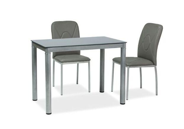 Стол обеденный Galant (60*100*75h) серый - Фото №1