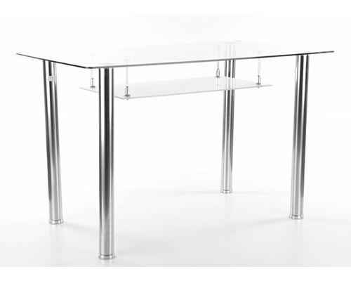 Стол стеклянный Hektor Signal 120*70*h75 см прозрачный - Фото №1