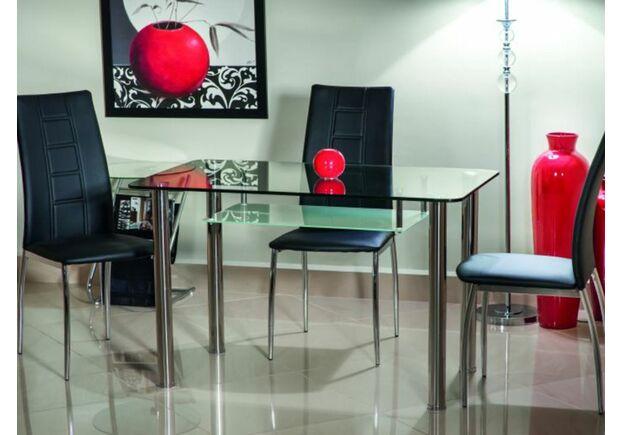 Стол стеклянный Hektor Signal 120*70*h75 см прозрачный - Фото №2