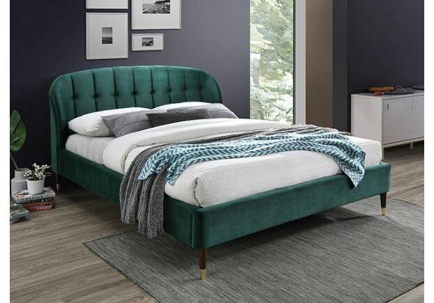 Кровать LIGURIA VELVET 160*200 зеленое /т.кор. BL.78 - Фото №1