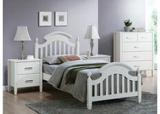 Кровать деревянная Lizbona белая
