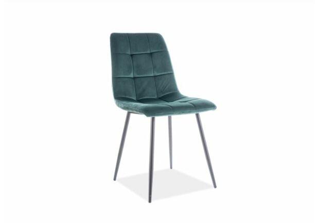 Кресло Mila Velvet зеленый - Фото №1