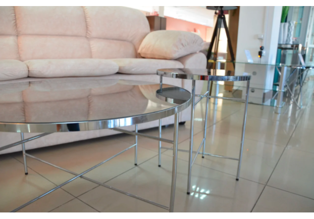 Cтол журнальный Ibiza C серебро - Фото №2