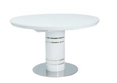 фото Стол обеденный Stratos  белый лак