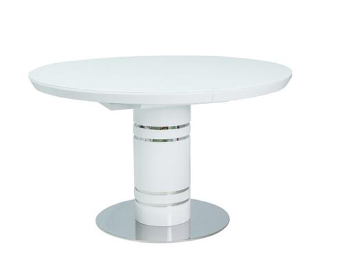Стол обеденный Stratos  белый лак - Фото №1