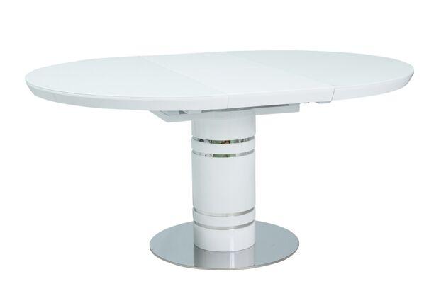 Стол обеденный Stratos  белый лак - Фото №2