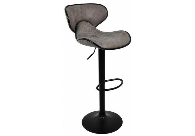 Барный стул со спинкой HB-678 серое - Фото №1