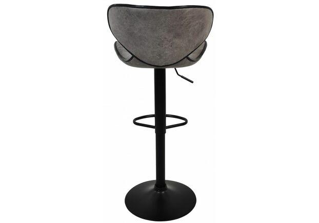 Барный стул со спинкой HB-678 серое - Фото №2