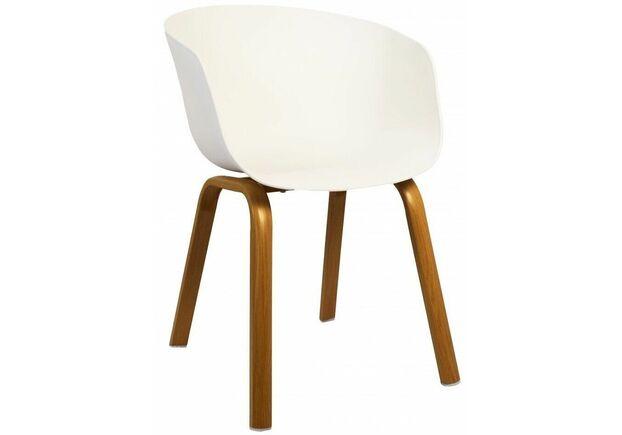 Кресло B-496 белое - Фото №1