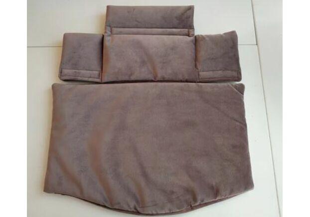 Детский растущий стул цвет дымчато серый hazy grey - Фото №2