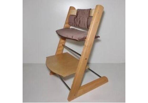 Детский растущий стул цвет натуральный natural - Фото №2
