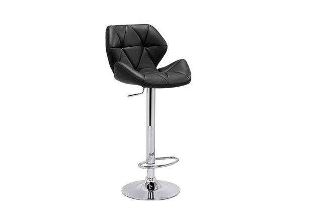 Высокий барный стул Старлайн черный - Фото №1