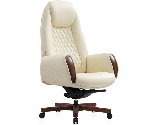 Кресло руководителя Боинг BRL белое - Фото №1