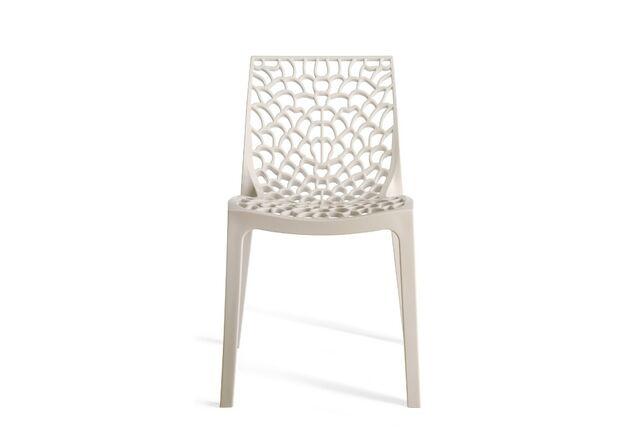 Пластиковый стул GRUVYER bianco - Фото №1