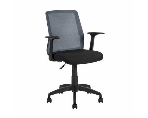 Кресло офисное ALPHA black-grey - Фото №1