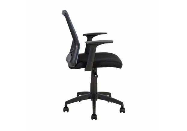 Кресло офисное ALPHA black-grey - Фото №2
