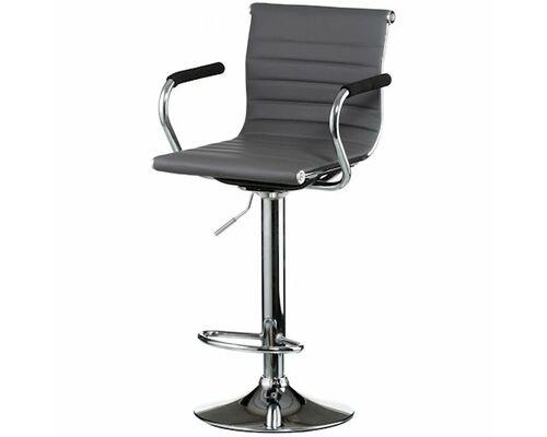 Кресло барное Bar grey plate - Фото №1