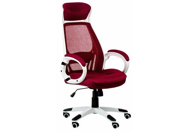 Кресло офисное с подголовником Special4You Briz red - Фото №1