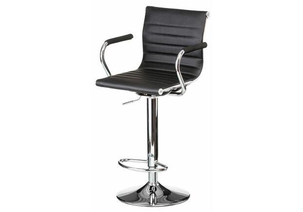 Кресло барное Bar black plate - Фото №1