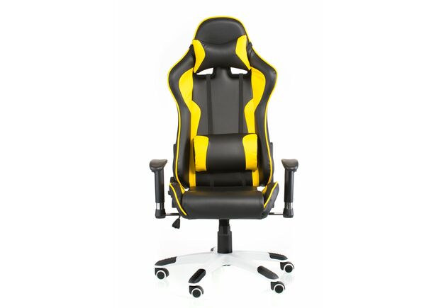 Кресло Special4You ExtremeRace black/yellow - Фото №2