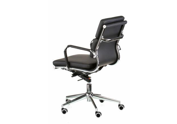 Кресло офисное Special4You Solano 3 artleather black - Фото №2