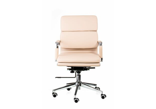 Кресло офисное SPECIAL4YOU Solano 3 artleather beige - Фото №2