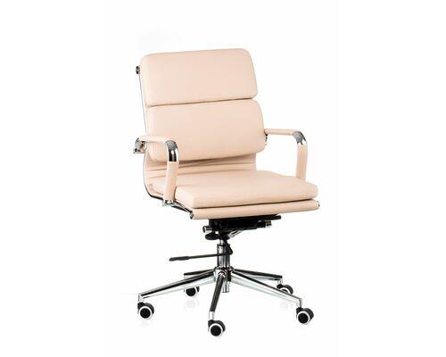 Кресло офисное SPECIAL4YOU Solano 3 artleather beige - Фото №1