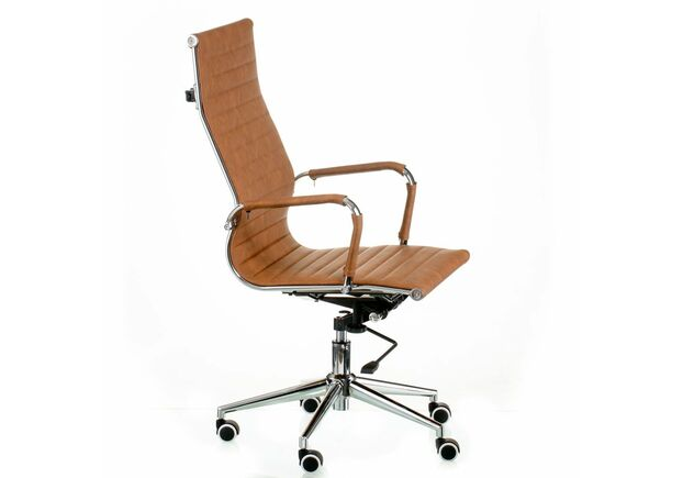 Кресло Special4You Solano artleather light-brown - Фото №2