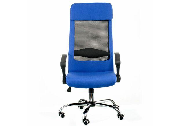 Кресло офисное Special4You Silba blue - Фото №2
