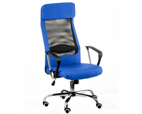 Кресло офисное Special4You Silba blue - Фото №1