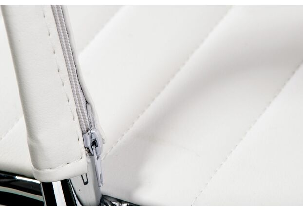 Кресло Special4You Solano office artleather white - Фото №2