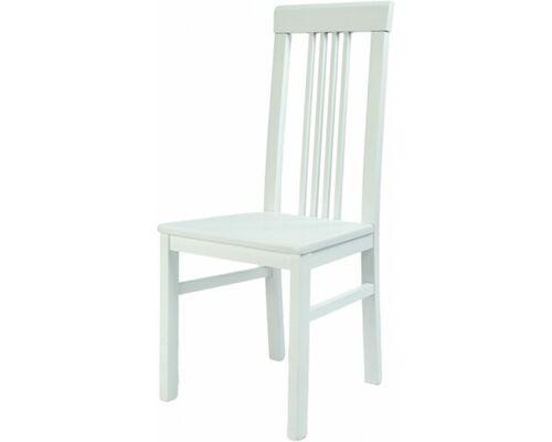 Стул Алла 01 белый твердое сиденье - Фото №1