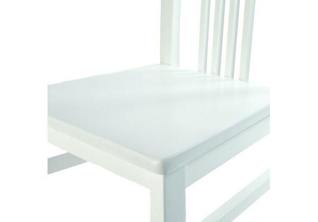 Стул Алла 01 белый твердое сиденье - Фото №2