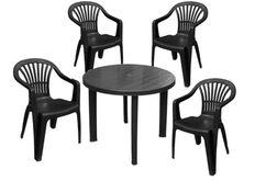 Комплект для сада стол+4 кресла
