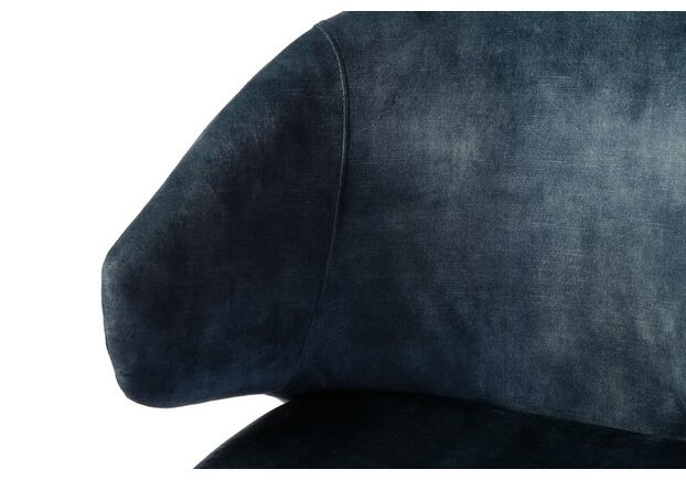 Стул M-37 синяя жемчужина/черный+золото - Фото №2