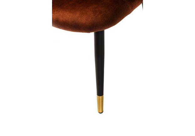 Стул M-37 бронзовая жемчужина/черный+золото  - Фото №2