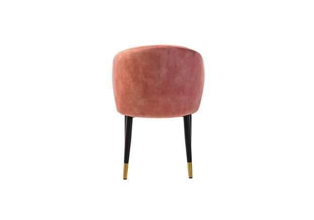 Стул M-37 розовая жемчужина/черный+золото - Фото №2